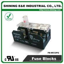 FB-M032PQ Aprovado UL Equal To Bussmann 30A Suporte de fusível de porco de 2 Pole