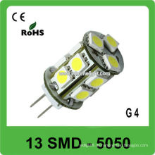 360 Grad emittierende 13 SMD 5050 12V geführtes G4 Birnenlicht