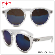 Plastic Round Sunglasses with Equisite Decoration (WSP508312)