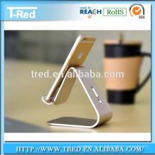 Soporte de mesa de aleación de aluminio de alta calidad para teléfono móvil