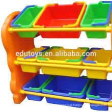 Armazenistas e gabinetes de brinquedos infantis de jardim de infância