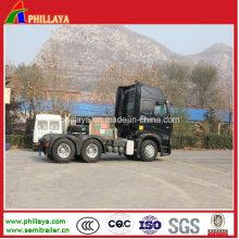 Caminhões pesados da carga do reboque de Sino do motor pesado HOWO A7