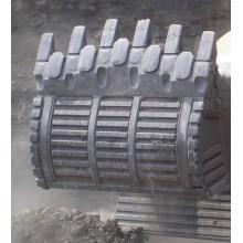 Piezas de desgaste de carburo para excavadoras y niveladoras