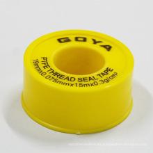 Cinta de PTFE / Teflón expandida con autoadhesivo para tubería de agua