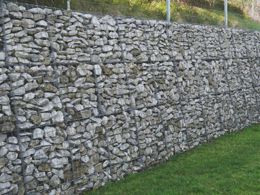 Welded Mesh Panel Gabion Wall