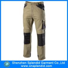 Shenzhen atacado 100 algodão barato trabalho calças para homens