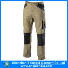 Последний Профессиональный дизайн рабочей униформы спецодежды брюки для мужчин