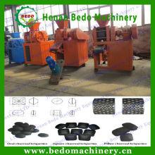 2015 más popular máquina de briquetas de carbón de cáscara de coco con CE 008613253417552
