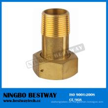 Proveedor rápido de las instalaciones del metro del agua de cobre amarillo (BW-704)