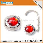 Promotion Gifts Cusstom Logo Wholesale foldable purse hanger