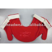 lover's red winter fleece glove