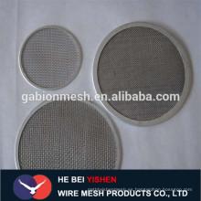 Alambre de alambre de metal del precio bajo de los discos del filtro alibaba China
