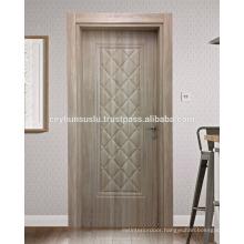 Luxury View Cheap Price Pvc Interior Door Waterproof WPC Frame and Jamb
