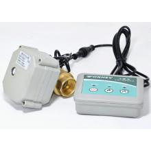 Válvula de cierre eléctrico para control de fugas de agua