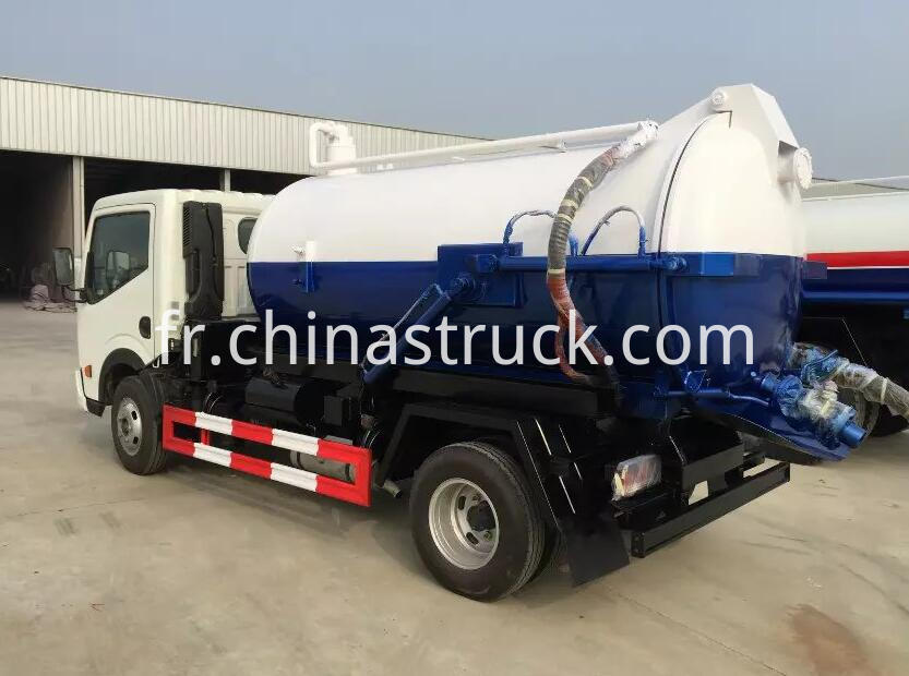 Dongfeng vacuum waste oil tank truck