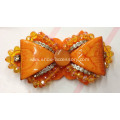 2014 Handmade Bowknot with Beads Sewn for Shoes Accessories
