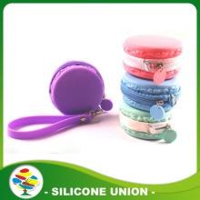 Multicolour Round Shape Silicone Coin Purse
