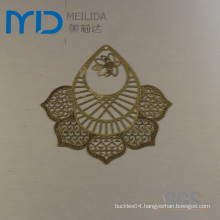 Coppery Etaching Filigree Manufacturer and Brass Earrings Factory