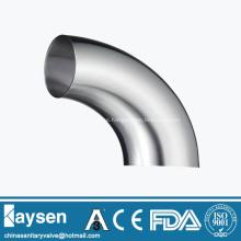 ISO1127 Sanitarios soldados 90 ° codo accesorios de tubería