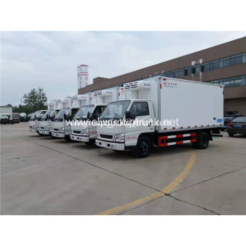 Manual 4x2 Frozen Meat Delivery Truck