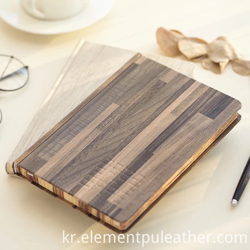 Noterbook Decorative Wood Grain Paper