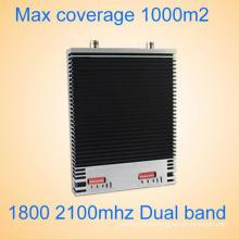 Komplettset GSM / Dcs 1800 2100 2g / 3G / 4G Signal Booster / Repeater 27dBm