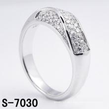 Neue Design Modeschmuck 925 Sterling Silber Ring mit CZ (S-7030)