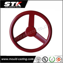 Plastic CNC Rapid Prototype Spare Parts for Steering Wheel