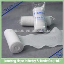 Rouleau de bandage en gaze extensible