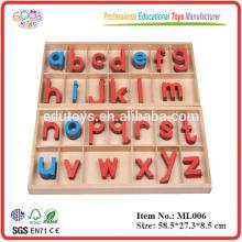 Montessori Ausrüstung - Montessori Buchstaben eines Alphabets