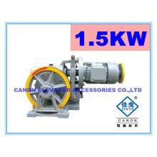 200KG 1.5KW montaplatos ascensor máquina