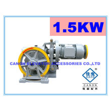 100-350kg Single Speed Elevator Gear Freight Traction Machine for Dumbwaiter
