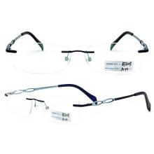 2015 Titanium Rimless Metal Glasses Frame (BJ12-309)
