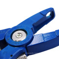 Blue One-Piece Animal Ear Tag Applicator Equipment Pliers Sheep Ear Tag Plier