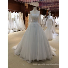 Trendy Princess Wedding Dress with Sleeves