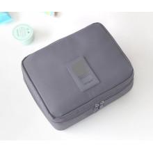 Sac d'emballage pliable de boîte de maquillage de stockage de sac de stockage de voyage avec la tirette