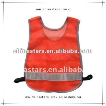 high visibility reflective running safety vest