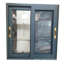 Cheap price 6mm double glass aluminium profile for sliding windows