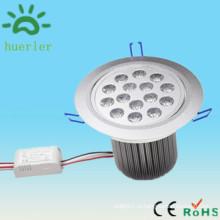 Низкое напряжение dc12v 24v ac 100v привело утопленный downlight 15w сделано в Китае