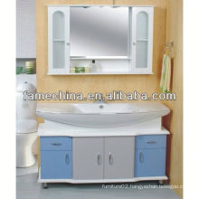 2013 Glass Doors White makeup cabinet