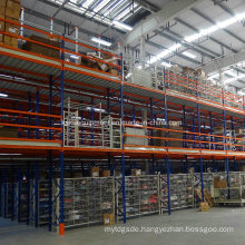 Metal Multi-Tier Shelving for Industrial Warehouse Storage