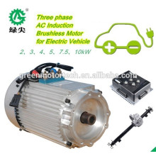 motores do cubo do carro elétrico de baixa velocidade 5Kw