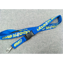 Custom Polyester Nylon Screen Printed Lanyard