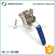 JKTL3B013 cf8m 1000 wog 3pc high pressure stainless steel industrial valves