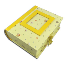 निजीकृत बच्चे Chipboard खजाना उपहार बॉक्स