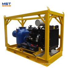 O motor diesel de 2 polegadas conduzido auto que injeta a bomba de água centrífuga para a irrigação