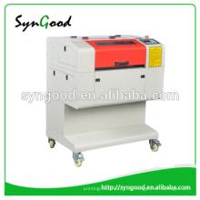 Máquina de grabado del laser del este SG5030 Marca de fábrica de Syngood mini 500 * 300m m