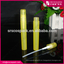 China Material plástico 4ml 7ml 9ml 12ml 16ml 20ml 30ml Perfumes Atomizadores de perfume