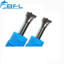 BFL CNC Tungsten Carbide Dovetail Milling Cutter For Copper And Steel