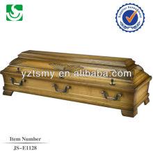 boîte de cercueil d'amande solide vente chaude